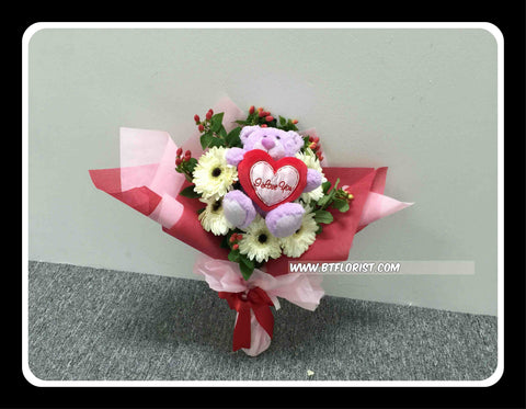 I Love U Bouquet      - BBQ1372