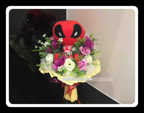 Deadpool Bouquet    - BBQ2240