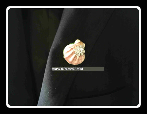 Special Seashell Corsage II  - ART0442