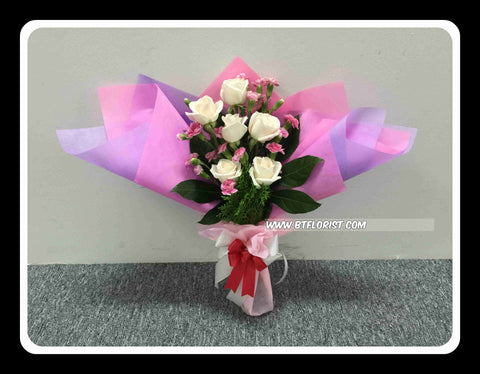 Rose & Carnation Bouquet  - FBQ1377