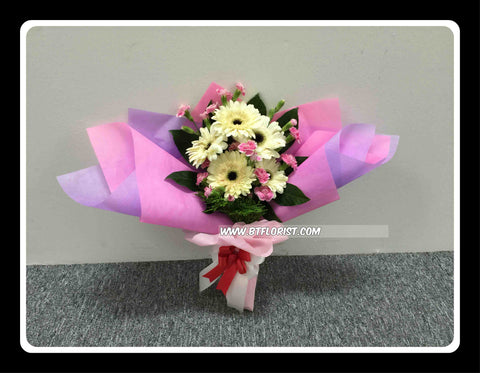 Gerbera & Carnation Bouquet - FBQ1484