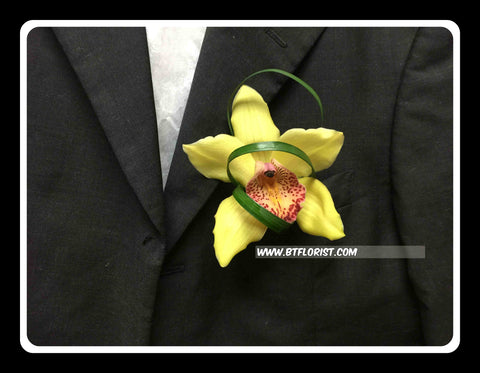 Simple Cymbidium Corsage - WED0343