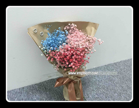 Colourful baby Breath Bouquet  - FBQ1225val