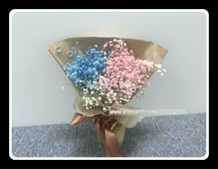 Colourful baby Breath Bouquet  - FBQ1226val