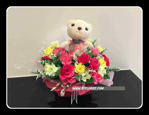 Cute Bear Arrangement II  - BWF3647