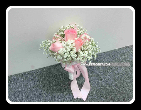 Simple Rose Bridal Bouquet iii - WED0432
