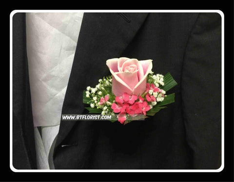 Pink Rose Corsage II - WED0208