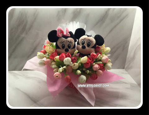 Mickey & Minnie Arrangement   - BWF3602val