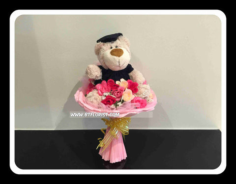 Graduation Bear Bouquet  - BBQ2341