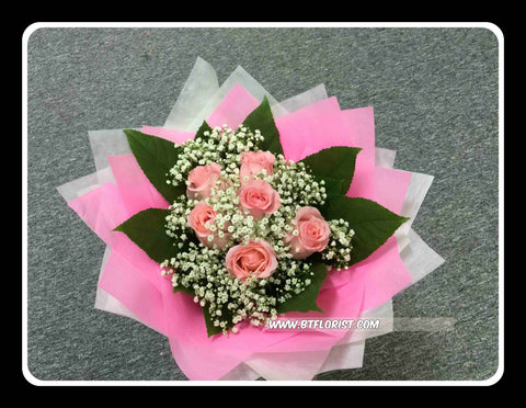 Simple Rose Bouquet II - FBQ1455val
