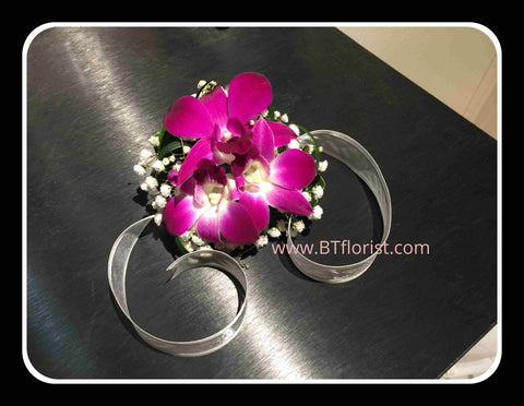 Fresh Orchid Wrist Corsage - WED0580