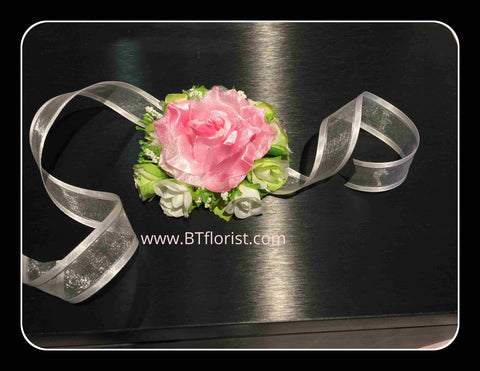 Rose Wrist Corsage   - WED0354