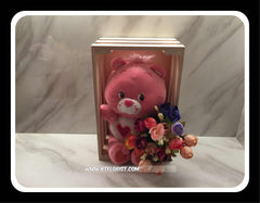 Carebear in Wooden Holder - BWF3549