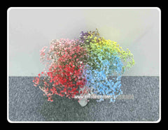 Colourful Baby Breath Bridal Bouquet - WED0436