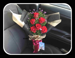 Simple Rose Bouquet III  - FBQ1253