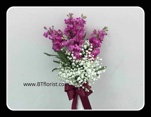 Matthiola Bridal Bouquet- WED2335