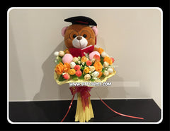 Graduation Bear Bouquet  - BBQ2346