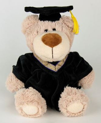"9"" Graduation Bear      - BEG634"