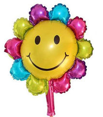 Smiling Flower Balloon (Non Helium)      - BAL0104