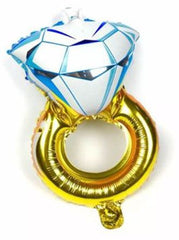 Large Diamond Ring Balloon (Non Helium)      - BAL0149
