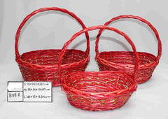 Red Basket    - BAS8159