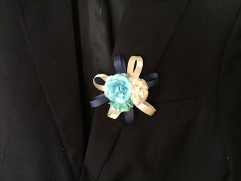 Artificial 3 Rose Corsage  - ART0435