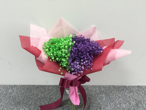 Colour Baby Breath Bouquet      - FBQ1537