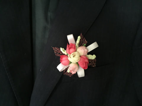 Artificial Rose Corsage  - ART0473