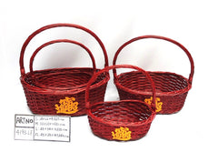 Red Basket  - BAS4193