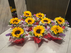 Single Sunflower Arrangement- FBQ1314val