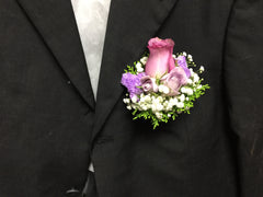 Deluxe Rose Corsage - WED0329
