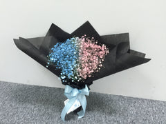 Colourful baby Breath Bouquet  - FBQ1226
