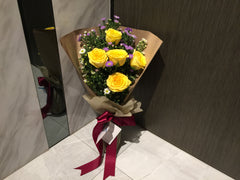 Yellow Rose Bouquet  - FBQ1242