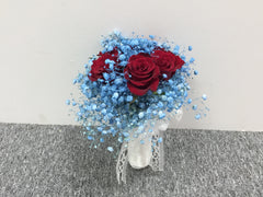 Simple Rose Bridal Bouquet - WED0434