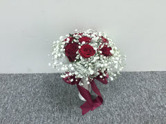Simple Rose Bridal Bouquet - WED0439