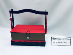 CNY Box with Handle- BAS3824