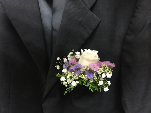 Special Rose Corsage - WED0350