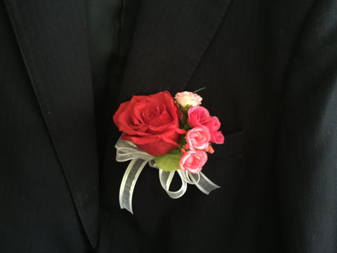 Rose Corsage - WED0444