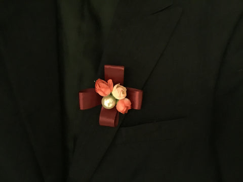 Artificial Rose Corsage  - ART0479