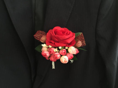 Artificial rose Corsage  - ART0413