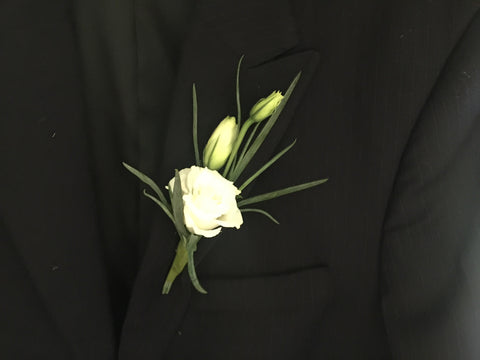 Eustoma Boutonniere- WED0441