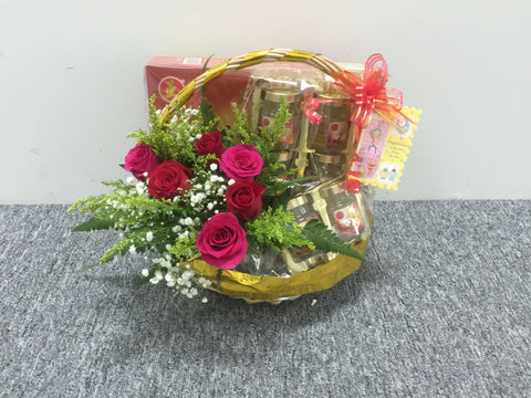 Bird's Nest with Fresh Flower  - TOB5847