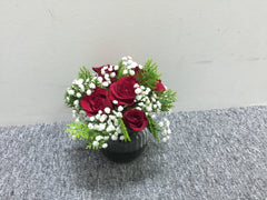 Simple Rose in Vase - TBF4162