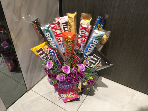 Assorted Chocolate Bouquet - CHO1291