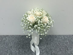 Simple Rose Bridal Bouquet - WED2112