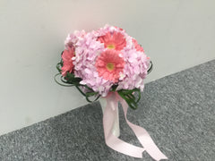 Hydrangea & Gerbera Bridal Bouquet- WED447