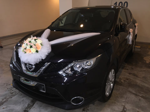 Champagne Theme Car Decoration  - WED0785