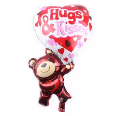 Hugs & Kisses Balloon ( Non Helium) - BAL0143