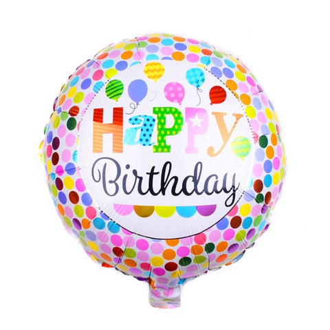Happy Birthday Balloon ( Non Helium) - BAL0142