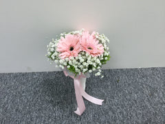 Simple Gerbera Bridal Bouquet  - WED2110